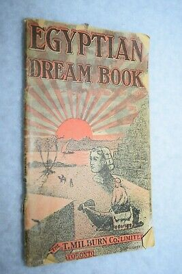 antique  EGYPTIAN DREAM BOOK toronto 1931 medicine booklet quack