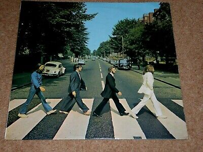 "THE BEATLES ""ABBEY ROAD"" 1st PRESSING 749-2 / 750-1 APPLE RECORDS EXCELLENT"