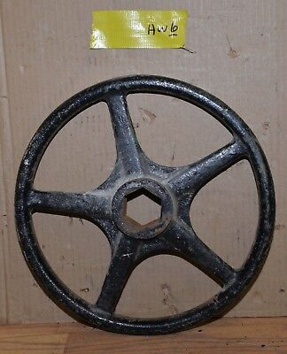 "Kennedy valve hand wheel industrial 14"" diameter collectible steam punk HW6"