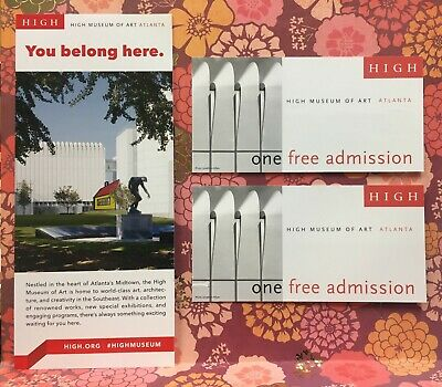 High Museum Of Art (Two event Passes $60 value)