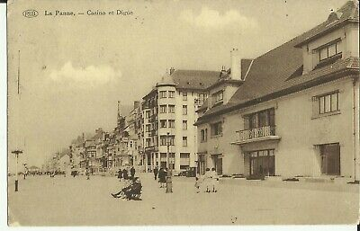 La Panne -- Casino et Digue. (2 scans)