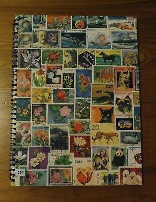 Collection of all different Commonwealth Stamps in a full stock book (250)