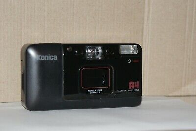 Konica A4 Film Camera With Date Back & Konica 35mm F3.5 Lens in Working Order