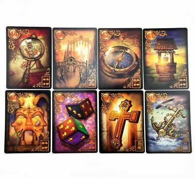 Lenormand Guidance Oracle Tarot Cards mythic fate divination for fortune games