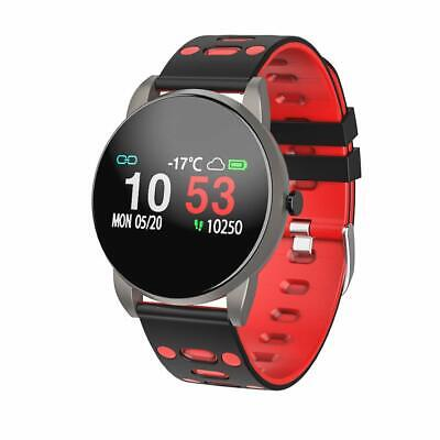 Smartwatch, Orologio Intelligente Braccialetto Fitness Activity Tracker   (RED)