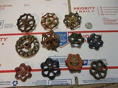 Vintage Metal Water Valves Handles 11