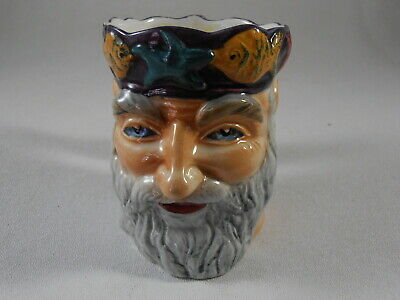 Father Neptune Character Toby Mug Cup Jug Staffordshire Shorter & Son England