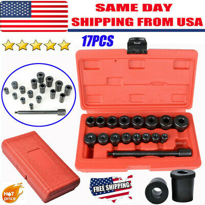 17PCS Universal Clutch Alignment Tool Kit Aligning For All Cars & Vans US STOCK