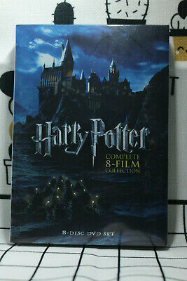 Harry Potter Complete 8-Film Collection(DVD,8-Disc Set)SEALED  NEW Fast Shipping
