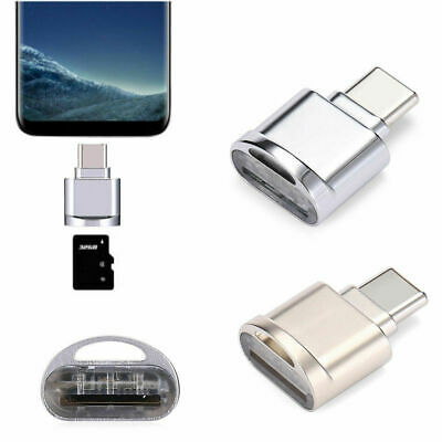 USB 3.1 Type C USB-C to Micro SD TF Card Reader Adapter For Smartphone PC Hot