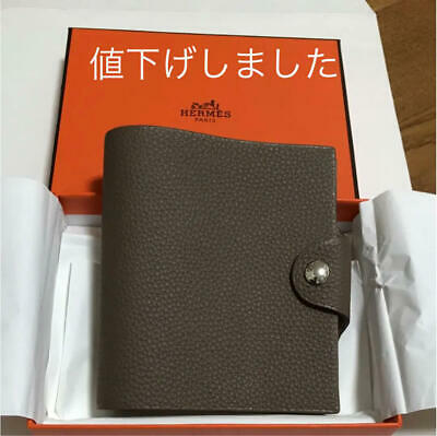 HERMES ACCESSORY Mini notebook cover Refill Ulysse AUTHENTIC GIFT FRANCE NEW