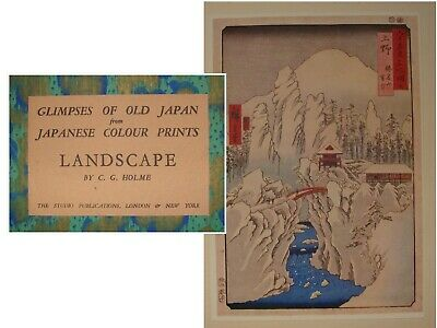 Glimpses of old Japan From Japanese Colours Prints LANDSCAPE By Holme