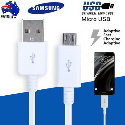 Samsung Original Genuine Micro USB Data Fast Charger Cable Galaxy S5 S6 S7Edge