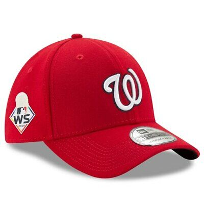 New Era Washington Nationals Red 2019 World Series Bound Side Patch 39THIRTY