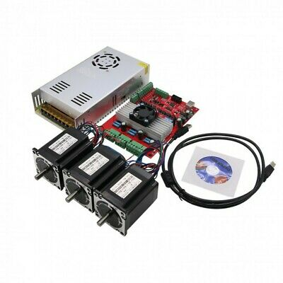 MACH3 USB 3-Axis CNC Kit TB6560 Stepper Motor Driver Board+Nema23 Stepper Motor