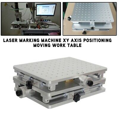 Laser Marking Machine XY Axis Positioning Moving Work Table Workbench Worktable