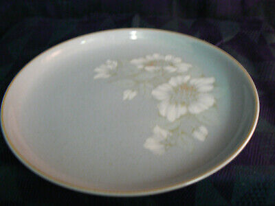 Vintage Denby Blue Dawn  10 Inch Dinner Plates 2 Available