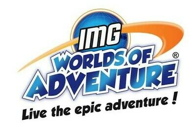 IMG Worlds of Adventure Theme Park - Entertainer App Dubai 2019 E Voucher