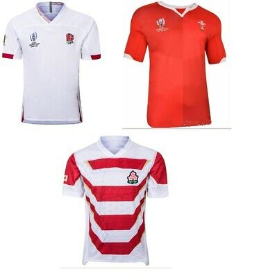 2019 Rugby World Cup Shirt England,Wales,Japan