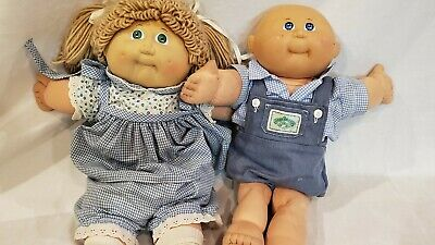 Lot of 2 Cabbage Patch Dolls
