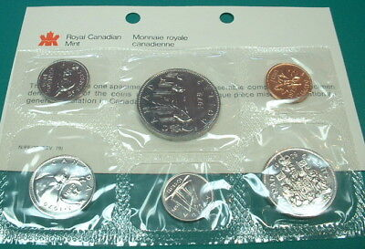 Canada 1975 *Attached Jewel* Proof Like Set with COA /& Original Envelope!!