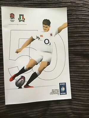 England V Italy 26 Feb 17 Rbs 6 Nations Rugby Union Programme F1