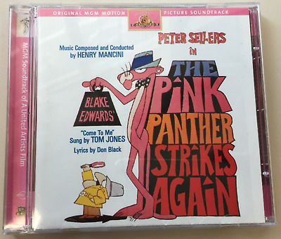 Pink Panther Strikes Again (1976) The Original MGM Soundtrack OST CD 98