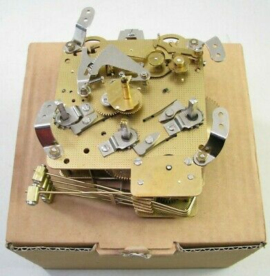 Vintage Franz Hermle 340-020 Westminster Chime Mantel Shelf Clock Movement Parts