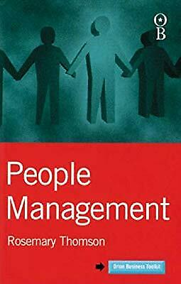 People Management (Orion Business Toolkit), Thomson, Rosemary, Used; Good Book