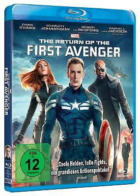The Return Of The First Avenger - Marvel - Blu-Ray - Neuw