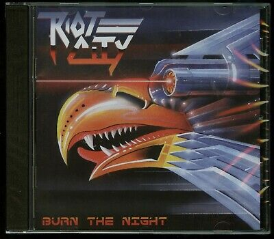Riot City Burn The Night CD new No Remorse Records