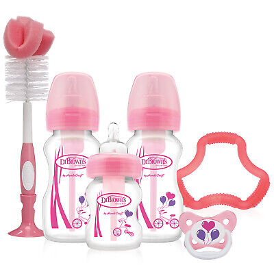 Dr Brown's Options Wide Neck Gift Set - Pink