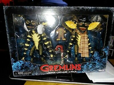 "NECA Winter Gremlins 2 Pack Christmas  7"" Inch Action Figures"