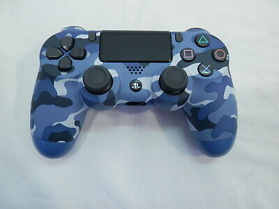 Sony Playstation 4 Wireless Dualshock Controller - Blue Camouflage ~!
