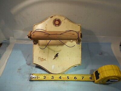 "Vintage / Antique Musical Toilet Paper Holder ""Made in Switzerland"""