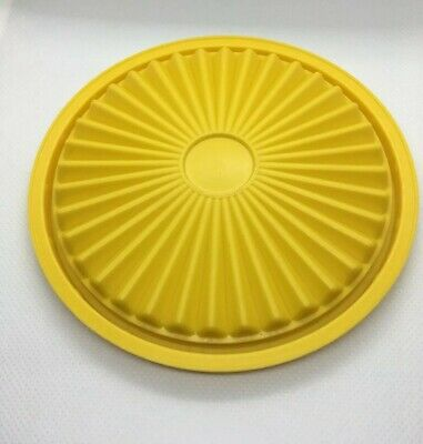 "VINTAGE TUPPERWARE #812 YELLOW Servalier REPLACEMENT Lid Seal 5"" ROUND"