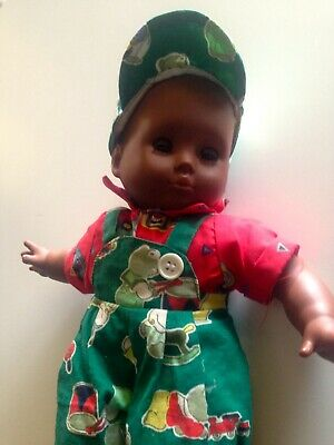 Doll Ethnic Immaculate Condition - 1990'S 34Cm