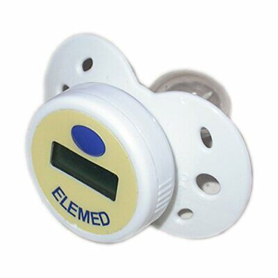 Elemed MP200 Temp Succhietto con Termometro, Bianco (R7s)