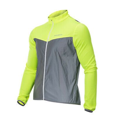 RockBros Outdoor Sports Cycling Reflective Vest & Long Sleeve Wind Coat Jersey