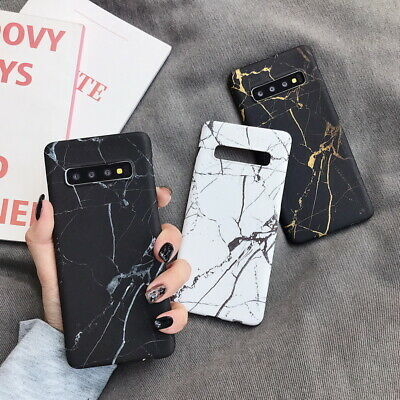 For Samsung Galaxy Note 10 Plus S10 S9 Luxury Shockproof PC Hard Slim Cover Case