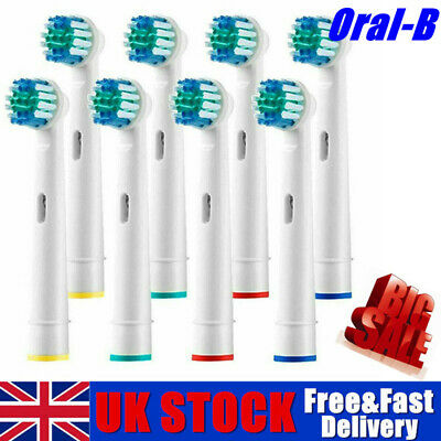 Uk Electric Toothbrush Heads Compatible With Oral B Braun Toothbrush Head Models