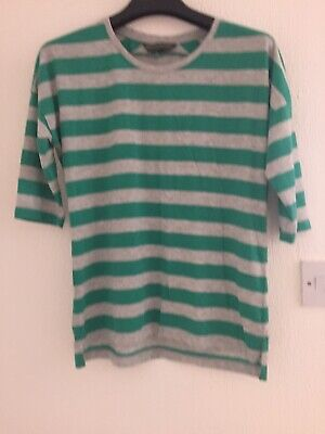 ***** Blooming Marvellous Green Maternity  Tshirt   top  size 10   ****