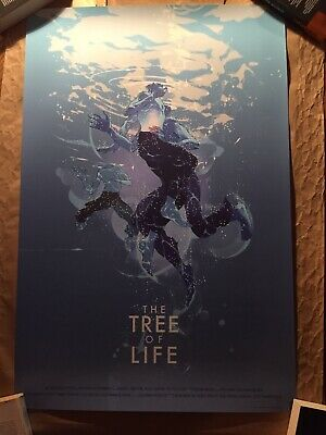 Mondo Print - Tree Of Life - Variant - Tomer Hanuka - Poster - Movie