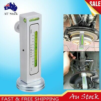 Car Wheel Alignment Magnetic Level Gauge Tool Car Camber Aid Magnet Positioning
