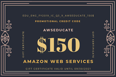 AWS $150 Amazon Web Services VPS Promocode Credit Code EC2 Lightsail  2021