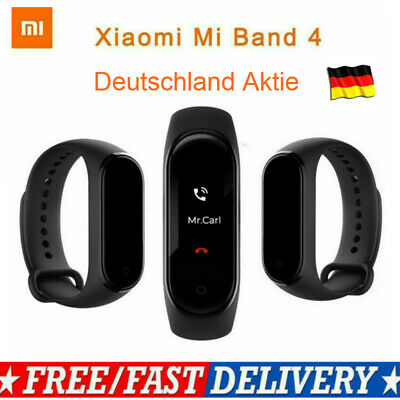 Original Xiaomi Mi Band 4 Bluetooth 5.0 Fitness Tracker Armband 5ATM Waterpr DE