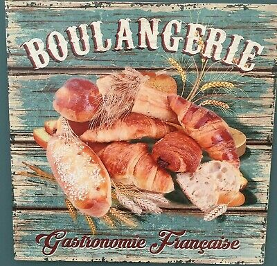 Boulangerie Signe Style antique French Bakery Wall Plaque Sign Paris France