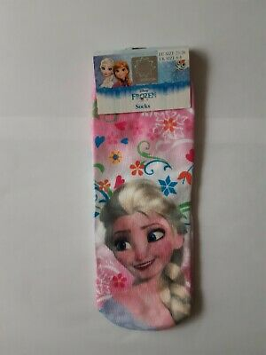"Girls Socks ""Frozen"" Size UK 6-8."