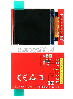 "10pcs LCD 1.44/"" Red Serial 128X128 SPI Color TFT LCD Display Module Nokia 5110"