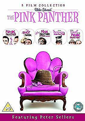 The Pink Panther Film Collection (5 Disc Box Set) [DVD] [1976], , Used; Good DVD